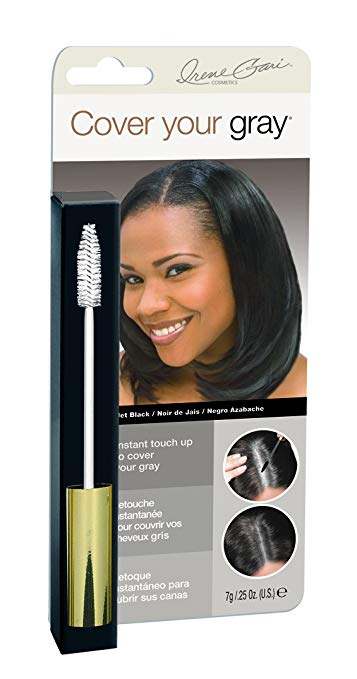 Cover Your Gray Brush-In Instant Touch Up Hair Color - Jet Black
