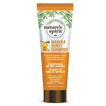 Natures Spirit Shampoo Manuka Honey 8 oz.