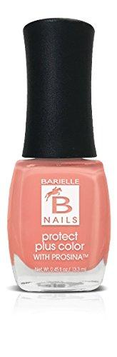 Protect+ Nail Color w/ Prosina - Peach Popsicle (Creamy Coral Peach) - Barielle - America's Original Nail Treatment Brand