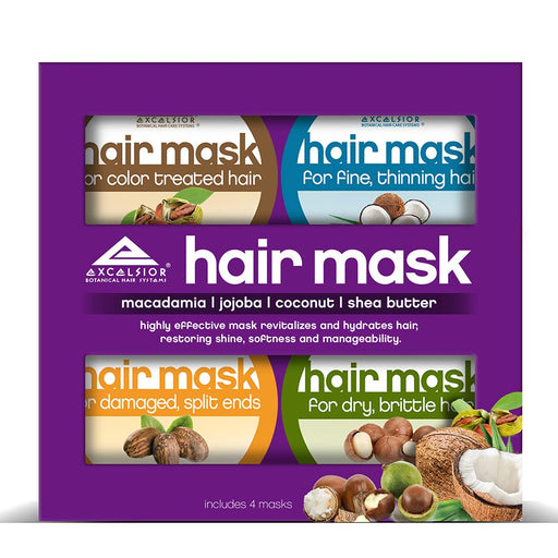 Excelsior Hair Mask Collection 6 oz. 4-Count