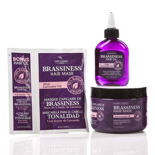 Hair Chemist Anti - Brassiness Hair Care 3 Piece Set