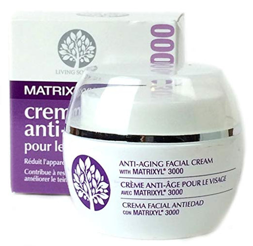 Living Source Matrixyl 3000 Facial Cream 1.5 oz.