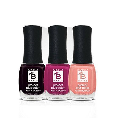 Barielle Flowers in Bloom 3-PC Nail Polish Bundle - Barielle - America's Original Nail Treatment Brand