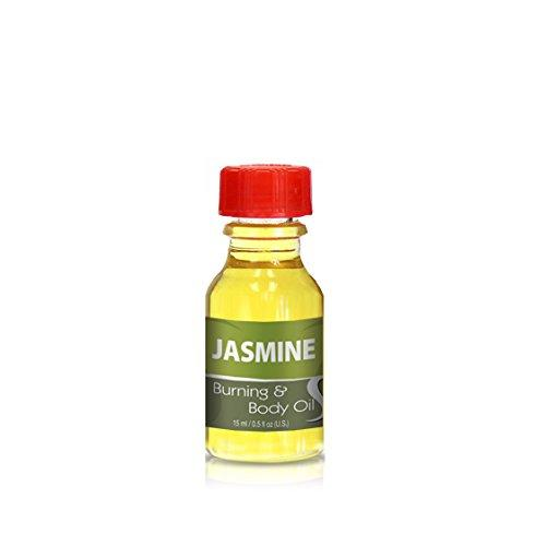 Burning & Body Oil - Jasmine .5 oz.
