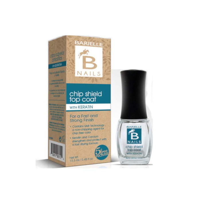 Barielle Nails Chip Shield Top Coat .5 oz. - Barielle - America's Original Nail Treatment Brand