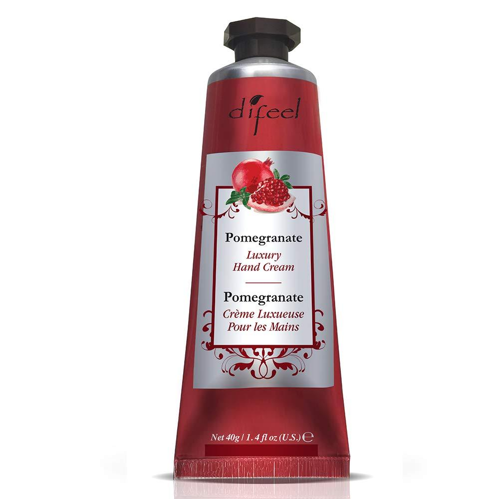 Difeel Luxury Moisturizing Hand Cream - Pomegranate 1.4 oz.