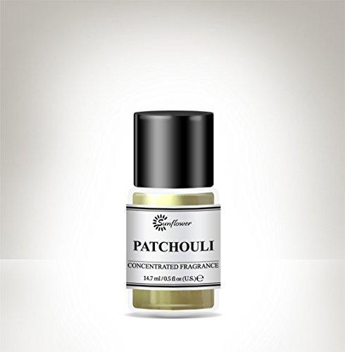 Black Top Body Oil - Patchouli .5 oz.