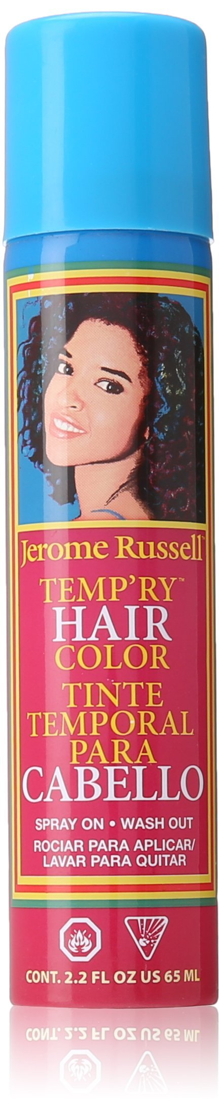 Jerome Russell Tempry Hair Color Spray, Dark Blonde, 2.2 oz.