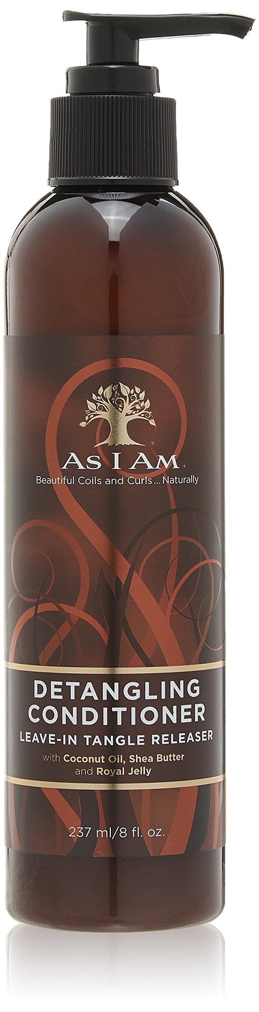 As I Am Detangling Conditioner Leave-In Tangle Releaser 8 oz.