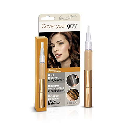 Cover Your Gray Root Touch-up and Highlighter - Light Brown/Blonde (6-PACK)