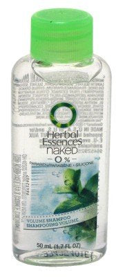 Clairol Herbal Essences Naked Shampoo 1.7 oz. Volume