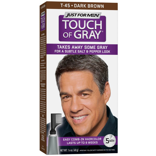 Just For Men Touch Of Gray #T - 45 Dark Brown