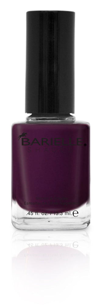 Barielle Edgy Nail Polish - Deep Purple, .45 oz.