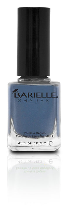 Barielle Slate Of Affairs Nail Polish - Worn Denim, .45 oz.