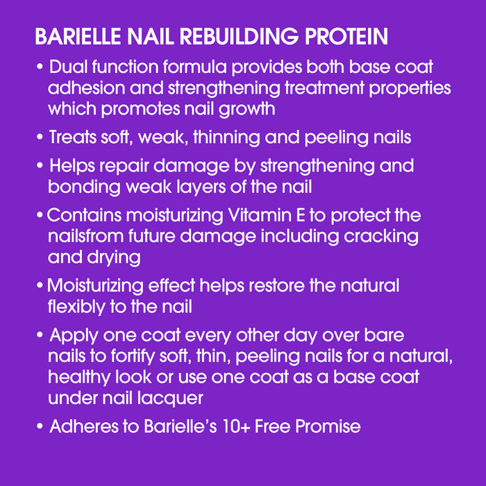 Barielle Nail Rebuilding Strengthening Protein .5 oz.