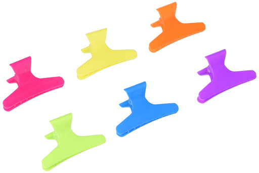 "3.25"" Neon Butterfly Clamps 36 -Count"