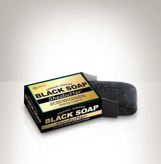 Difeel Original African Black Soap - Shea Butter 5 oz.