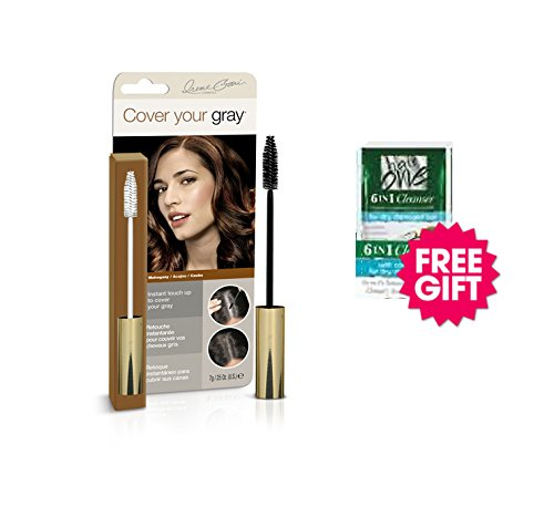 Cover Your Gray Brush In Wand - Mahogany w/ FREE Coconut Hair Cleanser