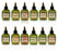 Difeel Premium Natural Hair Oil Collection - Complete 12 Piece Set