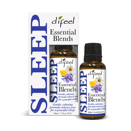Difeel 100% Natural Essential Oil Blends - Sleep 1 oz.