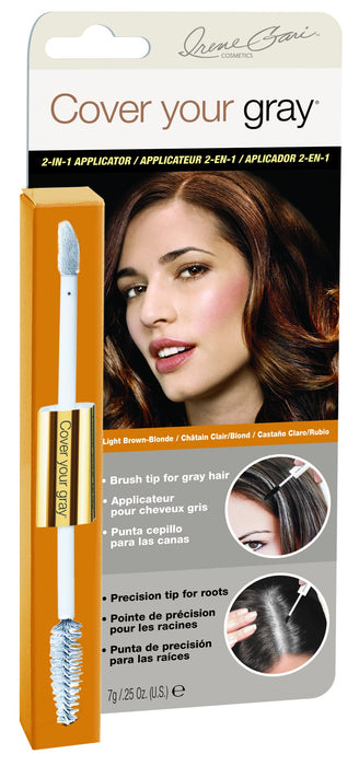 Cover Your Gray 2-In-1 Hair Color Touch-Up Wand -Light Brown/Blonde