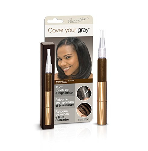 Cover Your Gray Root Touchup & Highlighter - Midnight Brown