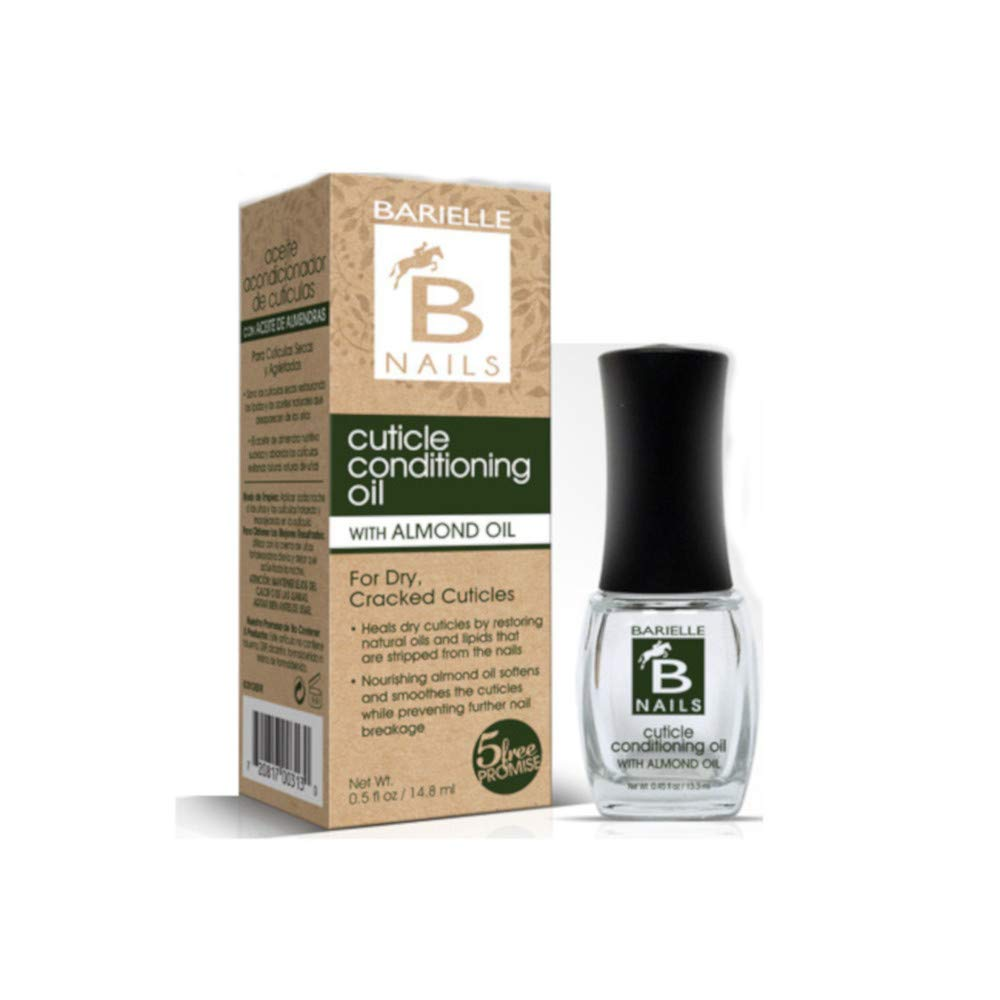 Barielle Cuticle Conditioning Oil w/Almond Oil .45 oz. 2-PACK