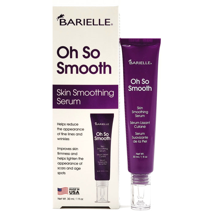 Oh So Smooth Skin Smoothing Anti-Aging Face Serum 1 oz. - Barielle - America's Original Nail Treatment Brand