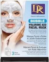 Daggett & Ramsdell Facial Sheet Bubble Mask with Hyaluronic Acid 3-Count 6-PACK