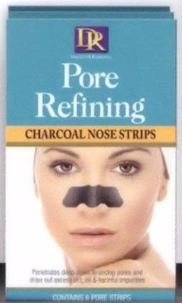 Daggett & Ramsdell Pore Refining Charcoal Nose Strips 6-Count (6-PACK)