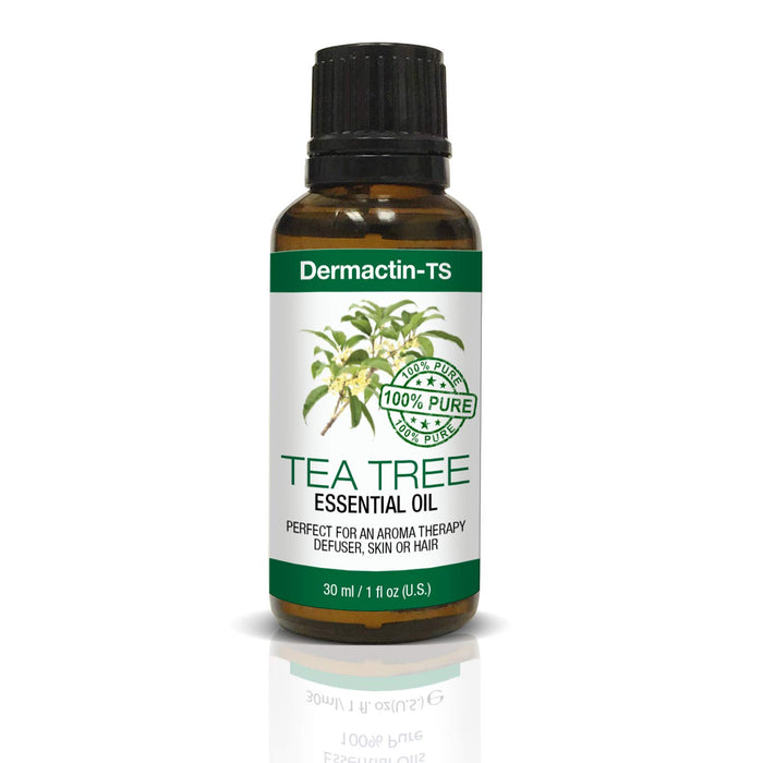 Dermactin-TS Essential Oil 100% Pure Tea Tree Oil 1 oz 6PK