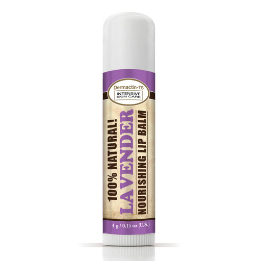 Dermactin-TS 100% Natural Lip Balm - Lavender (3-Pack)