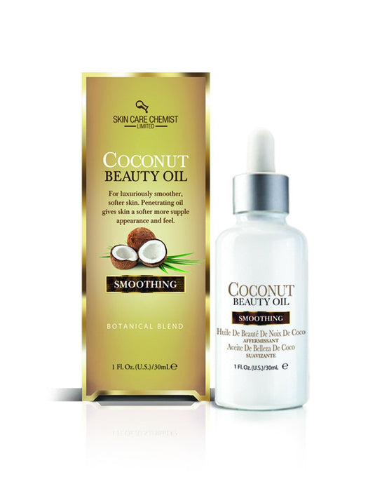Skin Care Chemist Coconut Beauty Oil - Smoothing Formula 1 oz.