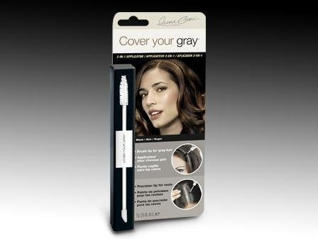 Cover Your Gray Mini Box 2-In-1 Hair Color Touch-Up - Black