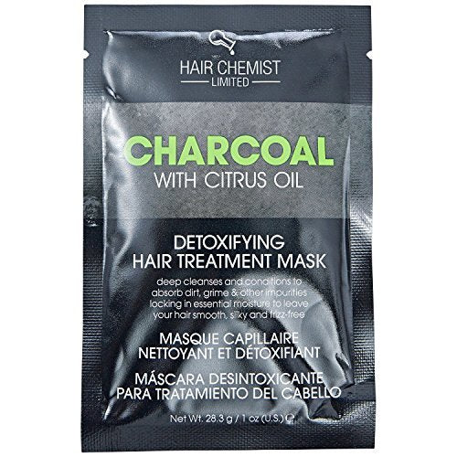 Hair Chemist Charcoal Detoxifying Hair Mask Packette