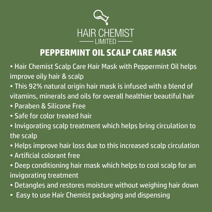 Hair Chemist Scalp Care Hair Mask with Peppermint Oil Packette 1 oz.