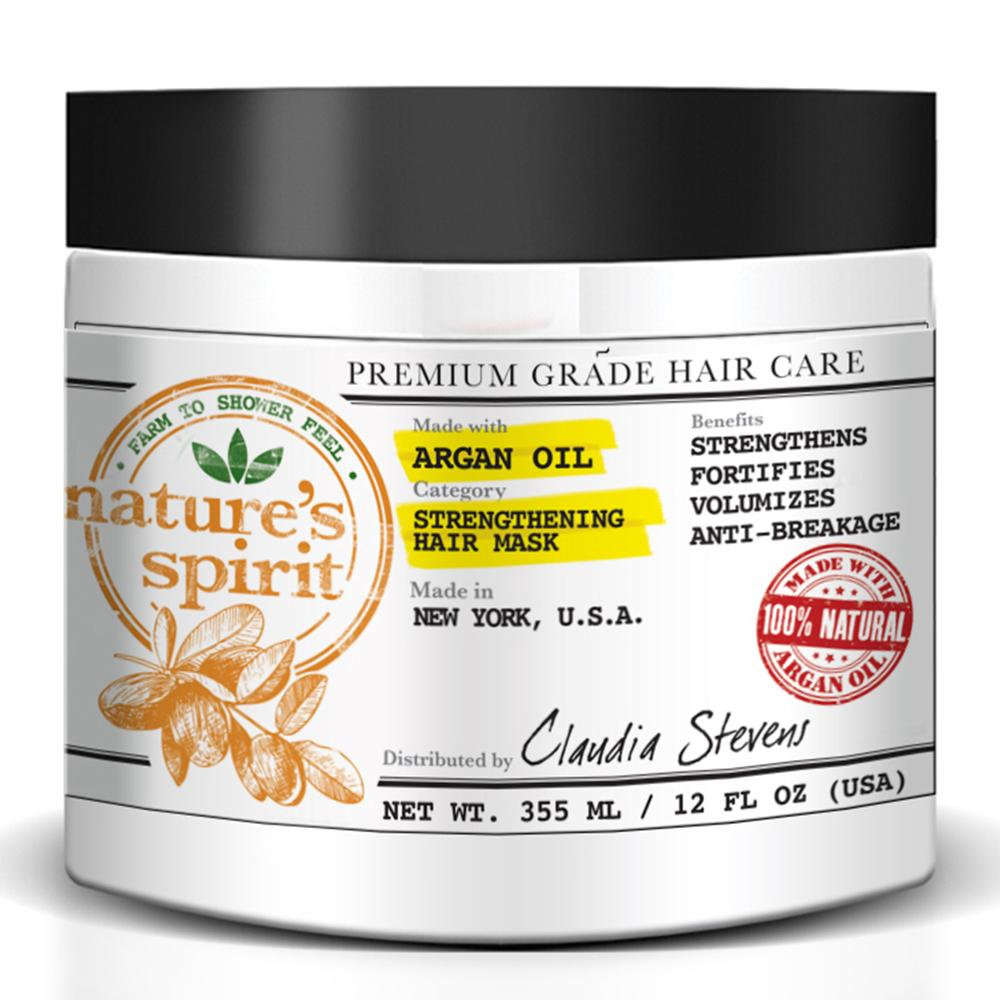 Natures Spirit Argan Oil Hair Mask 12 oz.