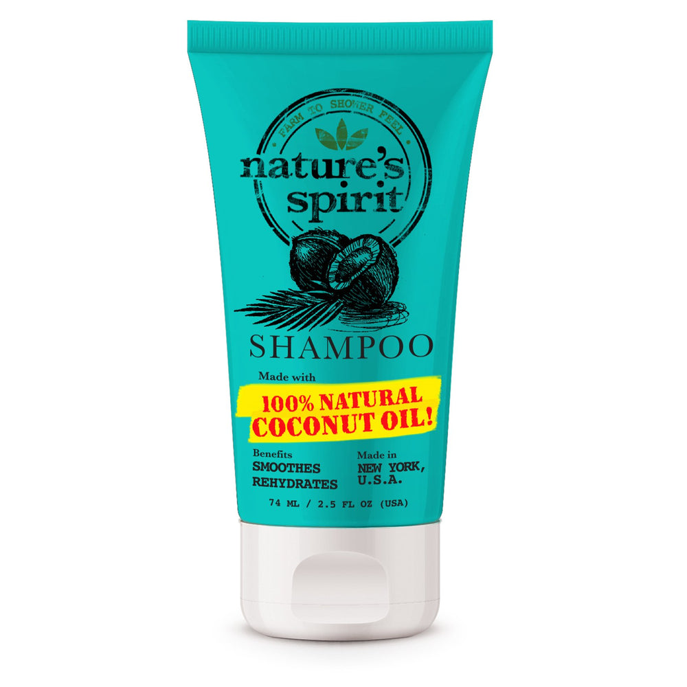 Natures Spirit Rehydrating Coconut Oil Shampoo 2.5 oz.