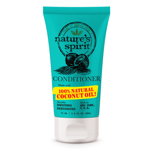 Natures Spirit Rehydrating Coconut Oil Conditioner Travel Size 2.5 oz