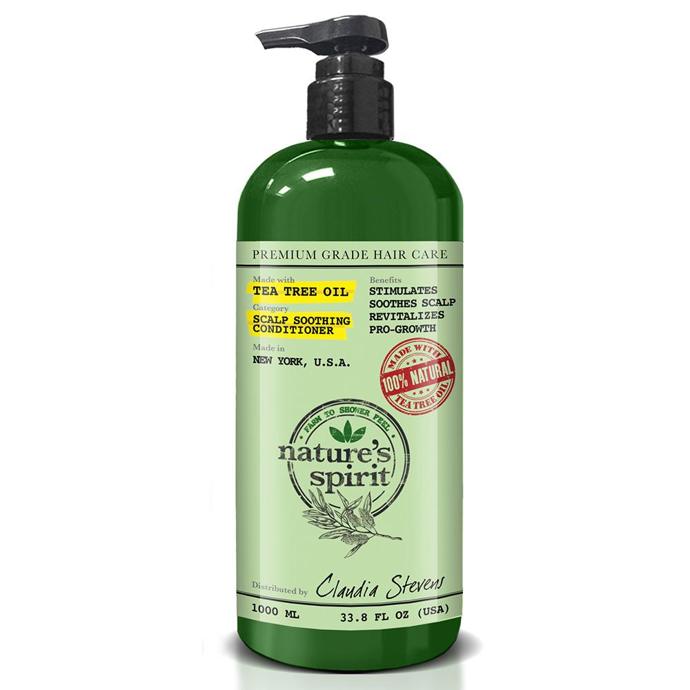 Natures Spirit Tea Tree Oil Conditioner 33.8 oz.