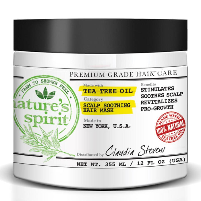 Natures Spirit Tea Tree Oil Hair Mask 12 oz.