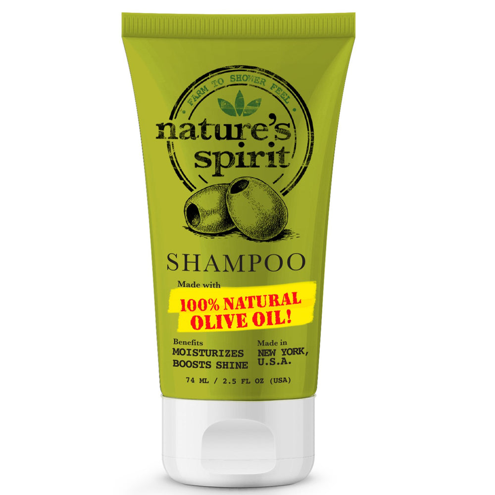 Natures Spirit Anti-Frizz Olive Oil Shampoo Trial Size 2.5 oz.