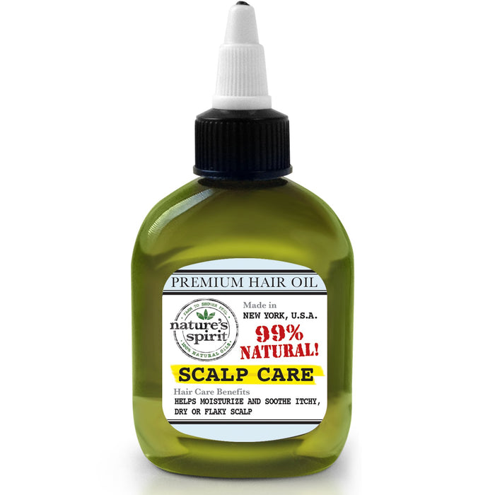 Natures Spirit Premium Hair Oil - Scalp Care 2.5 oz.