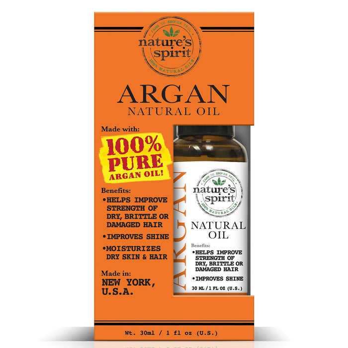 Natures Spirit 100% Natural Essential Argan Oil 1 oz.