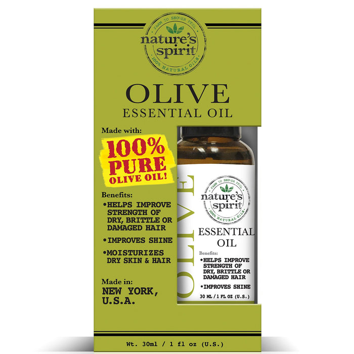 Natures Spirit 100% Natural Essential Olive Oil 1 oz.