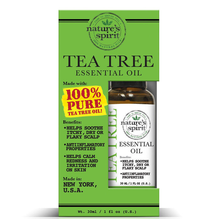 Natures Spirit 100% Natural Essential Tea Tree Oil 1 oz.