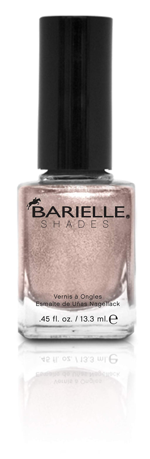 Barielle Brown Sparkes Nail Polish - Ligh Brown W/ Sparkles .45 oz.