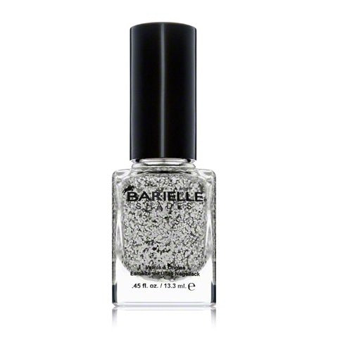 Barielle Starchild Nail Polish - Jelly Clear W/ Multi Color Foil Flakes .45 oz.
