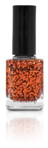 Barielle Shade Orange Flame, An Orange Glitter
