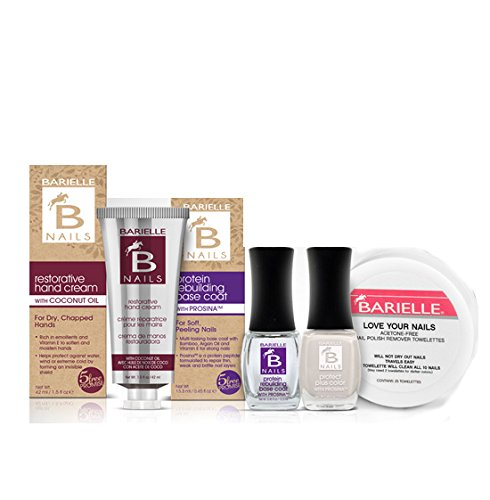 Barielle Bride To Be 4-Piece Nail Treatment And Nail Polish Bundle